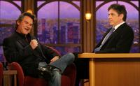 Kurt Russell and Craig Ferguson at the segment of
