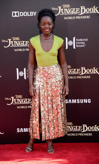 Lupita Nyong'o at the California premiere of