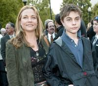 Theresa Russell and Max at the world premiere of