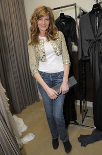 Rene Russo at the Kara Ross NY Oscar Collection cocktail party.