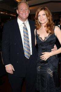 Rene Russo and Brandon Lang at the after party of