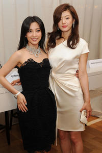 Bing Bing Li and Gianna Jun at the Luncheon of