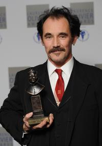 Mark Rylance at the Laurence Olivier Awards.