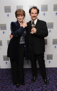 Samantha Bond and Mark Rylance at the Laurence Olivia Awards.