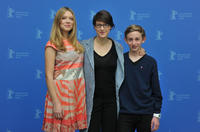Lea Seydoux, director Ursula Meier and Kacey Mottet Klein at the photocall of