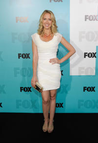 Anna Camp at the FOX All-Star party in California.
