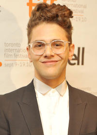 Xavier Dolan at the premiere of