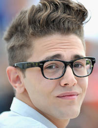 Xavier Dolan at the photocall of