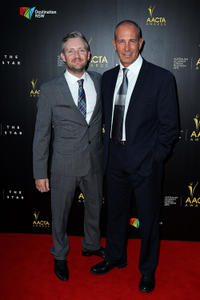 Stephen Curry and Martin Sacks at the 2nd Annual AACTA Awards.