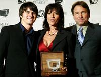 Katey Sagal, John Ritter and son Jason Ritter at the 5th Annual Family Television Awards.