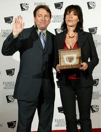 Katey Sagal and John Ritter at the 5th Annual Family Television Awards.