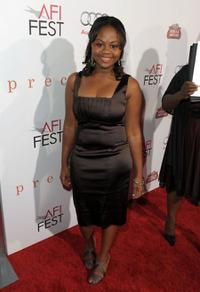 Hope Olaide Wilson at the screening of