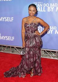 Hope Olaide Wilson at the New York premiere of