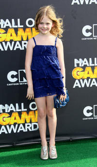 Emily Alyn Lind at the 2nd Annual Cartoon Network Hall of Game Awards in California.