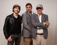 Tahar Rahim, Thomas Bidegain and director Jacques Audiart at the 2009 Toronto International Film Festival.