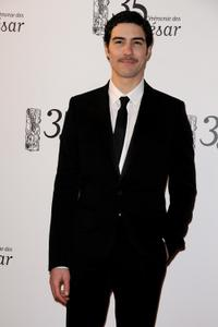 Tahar Rahim at the 35th Cesar Film Awards.