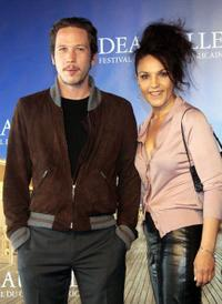 Reda Kateb and Faridah Rahouadj at the photocall of