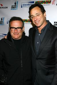 Bob Saget and Robin Williams at the
