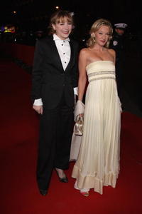 Ludivine Sagnier and Julie Depardieu at the Cesar Film Awards 2008.
