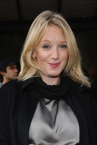 Ludivine Sagnier at the Stella McCartney Show during the Paris Fashion Week.