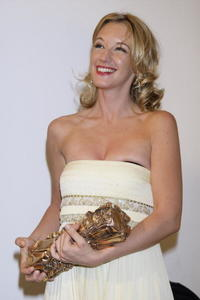Ludivine Sagnier at the 33rd Nuit des Cesar, France's top movie award.