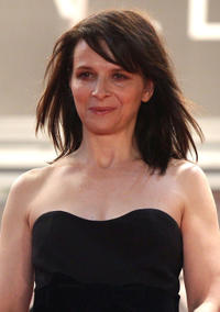 Juliet Binoche at the premiere of
