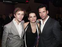 Juliette Binoche, Sondre Lerche and Dane Cook at the world premiere of Touchstone Pictures