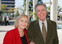 Eva Marie Saint and Jeffrey Hayden at the opening of