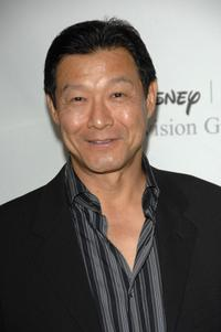 James Saito at the Disney and ABC's TCA - All Star Party.