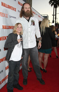 Chase Vanek and Tyler Mane at the California premiere of