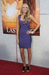 Melissa Ordway at the premiere of
