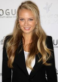 Melissa Ordway at the Art of Elysium Genesis celebration.