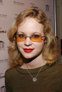 Thora Birch at the Friendly House benefit opening of Sama Eyewear.