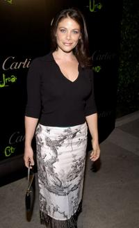 Meredith Salenger at the launch of Cartier's newest men's watch
