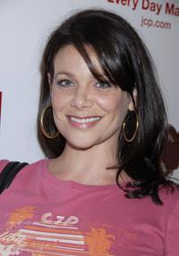 Meredith Salenger at the launch party for Chip and Pepper's C7P denim line.