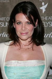 Meredith Salenger at the Art of Elysium's 2nd Annual black tie gala.