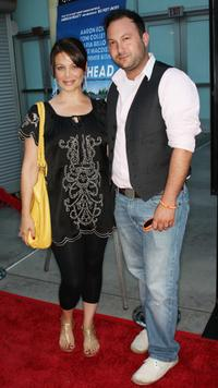 Meredith Salenger and Matt Boren at the premiere of