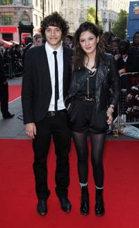 Dimitri Leonidas and Sophie Wu at the UK premiere of