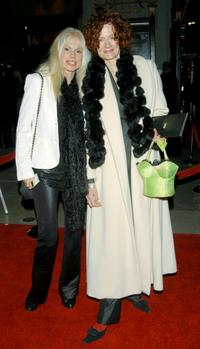 Bree Walker and Diane Salinger at the premiere of