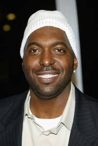 John Salley at the premiere of