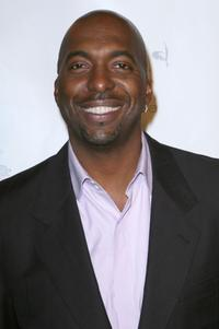 John Salley at the Runway Magazine launch party.