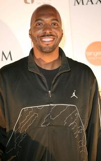 John Salley at the Maxim Extreme Hoops.