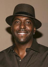 John Salley at the Midsummer Night's Dream Celebrity Poker evening.