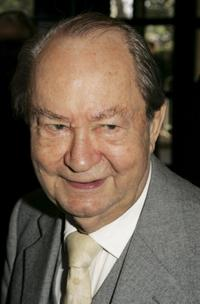 Peter Sallis at the South Bank Show Awards.