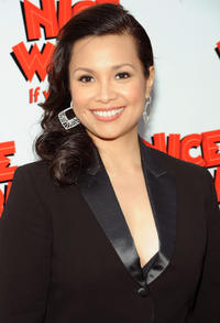 Lea Salonga at the Broadway opening night of