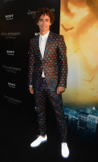 Robert Sheehan at the California premiere of