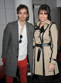 Robert Sheehan and Christine Bleakley at the UK Premiere of