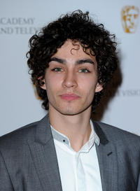 Robert Sheehan at the British Academy Television Craft Awards in London.