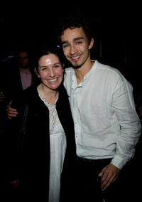 Sharleen Spiteri and Robert Sheehan at the after party of