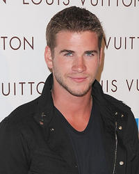 Liam Hemsworth at the opening of